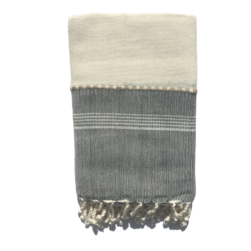 Hand Made XL & XXL  Fouta Zaida ( Organic cotton )