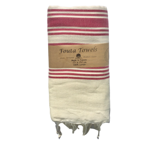 L Hand Made Fouta Zahara ( Organic cotton )