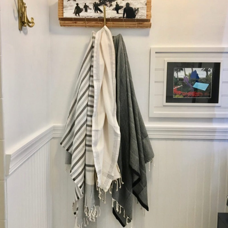 Palm Fouta Organic Towel Category Display