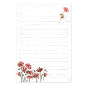 Wrendale Designs Jotter Pad 'Mouse & Poppy'