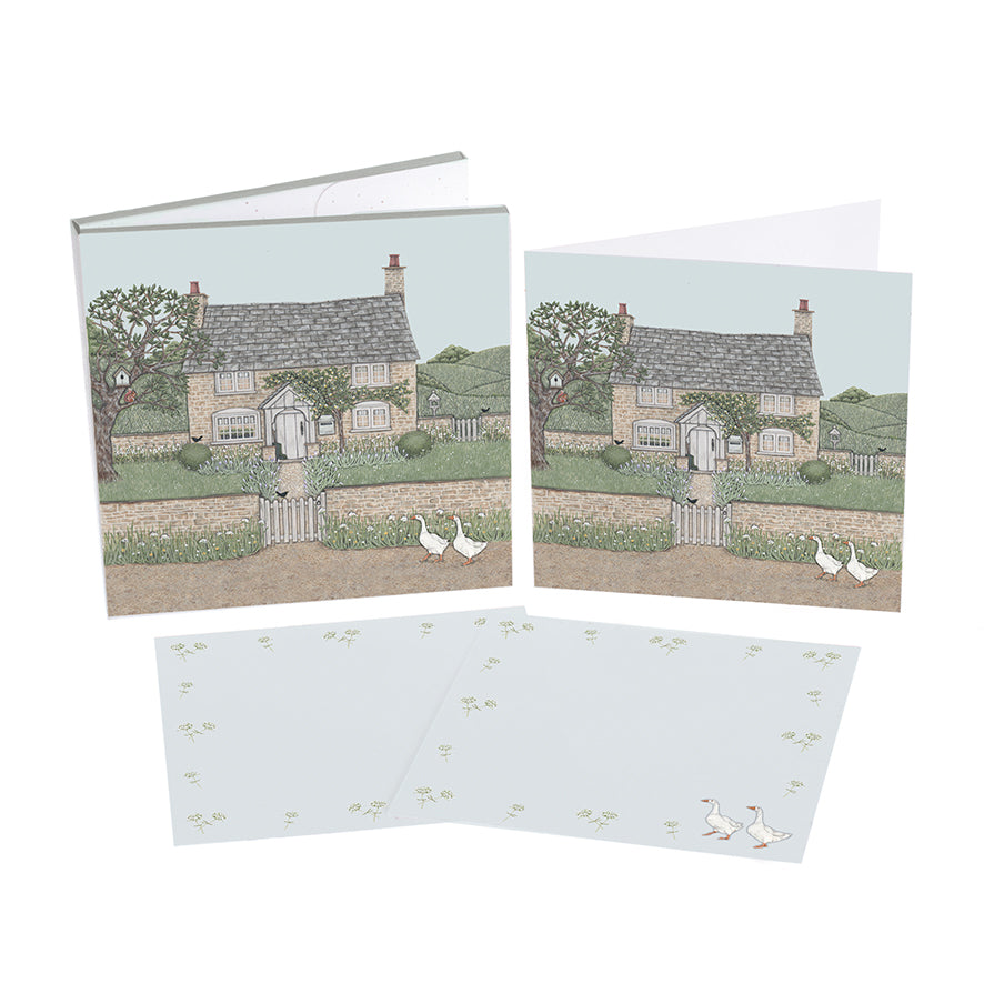Sally Swannell Notecard Pack 'Country Cottage'