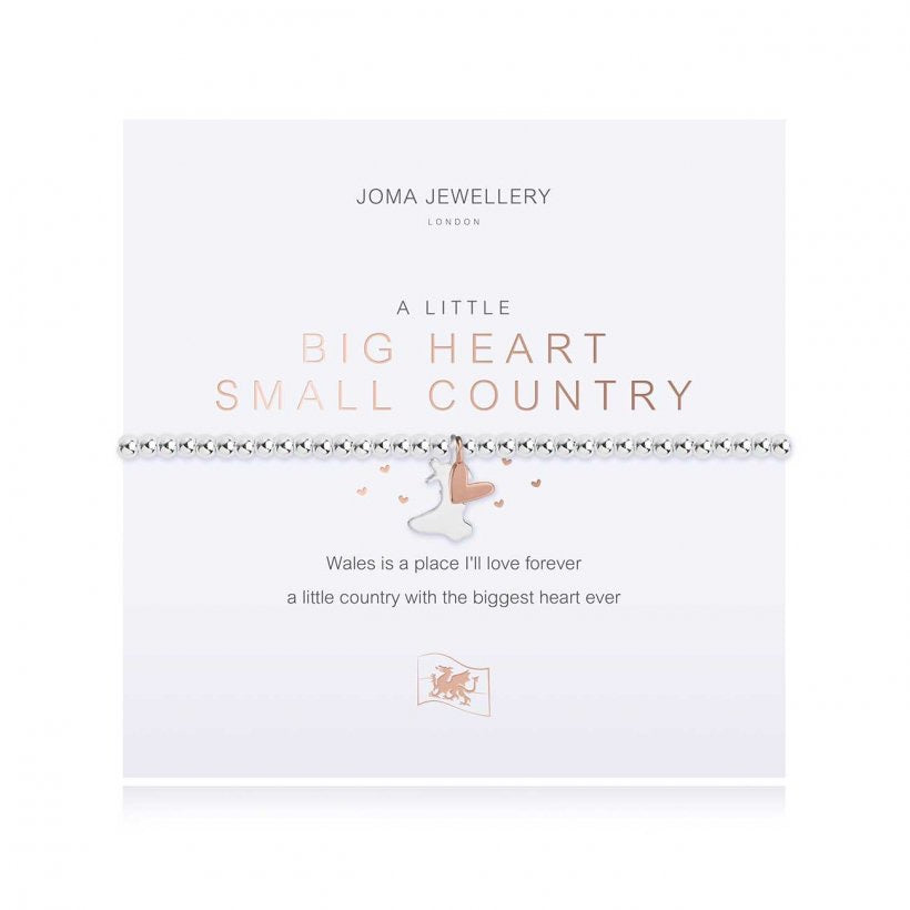 Joma Jewellery - Big Heart Wales Bracelet