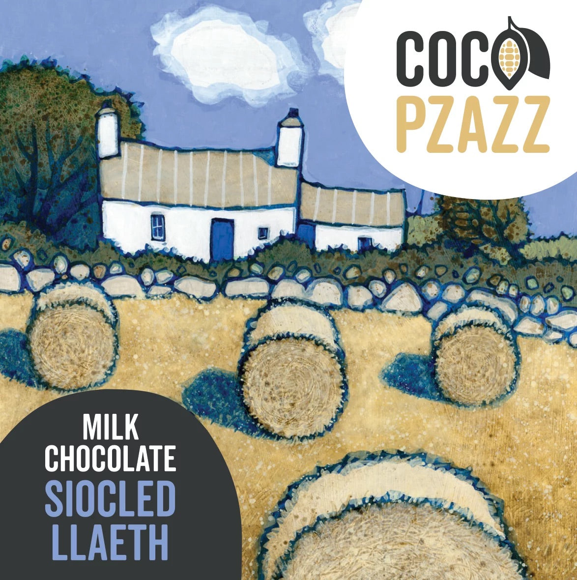 Coco Pzazz Bar - Milk Chocolate