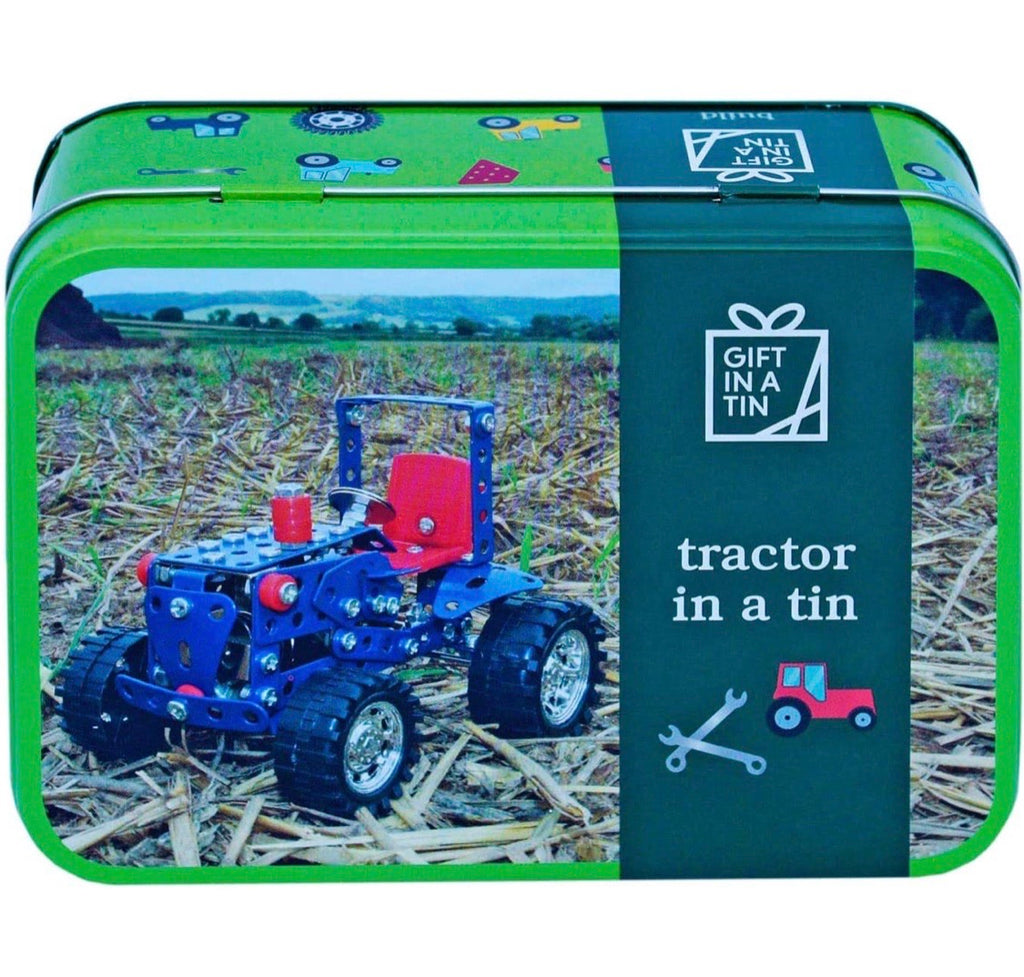 Tractor In A Tin Gift Box
