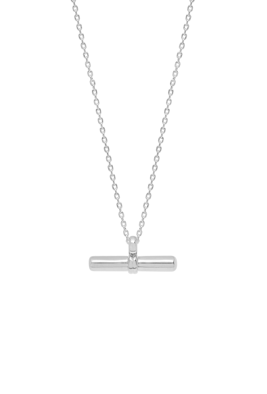 Estella Bartlett - T Bar Necklace Silver