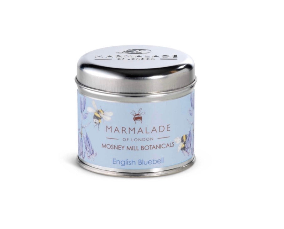 Mosney Mills English Bluebell Tin Candle