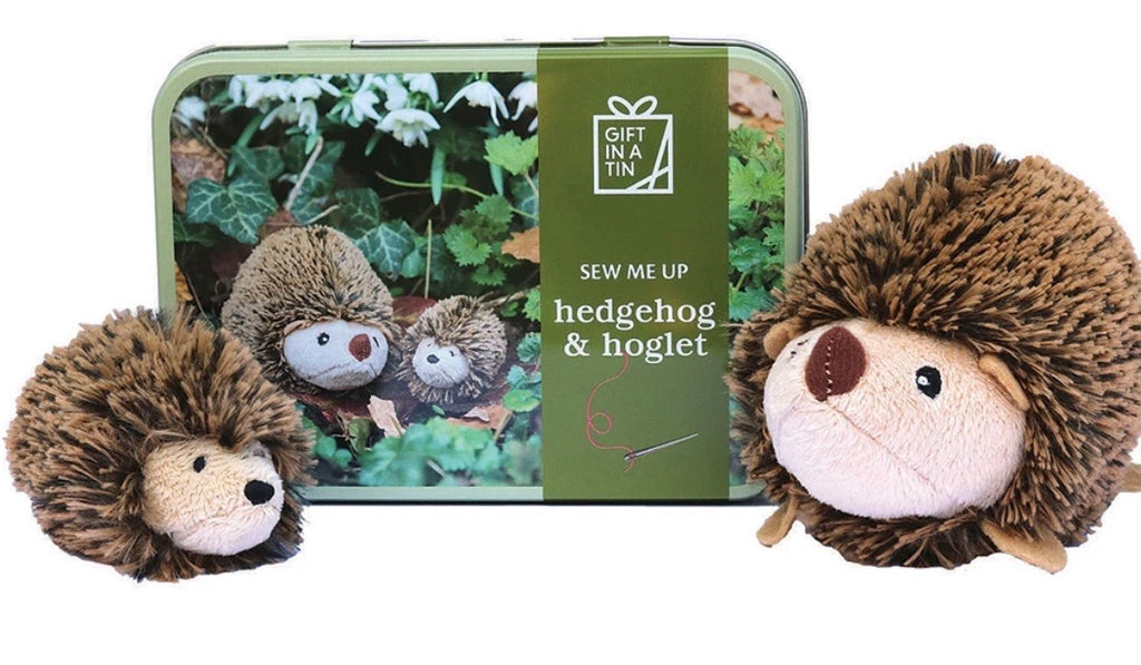 Sew Me Up Hedgehogs In A Tin