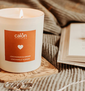 Calon Candles - Lemongrass & Ginger