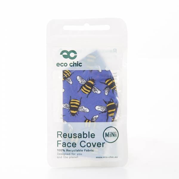 Children's Reusable Face Mask - Bee Design