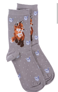 Wrendale Designs Bamboo Socks - Born To Be Wild