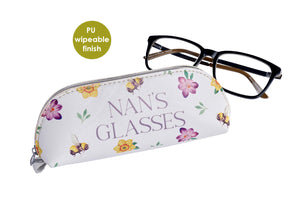 Nan's Glasses Case - Spring Flowers Design