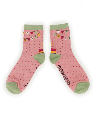 Powder Happy Birthday Ladies Socks
