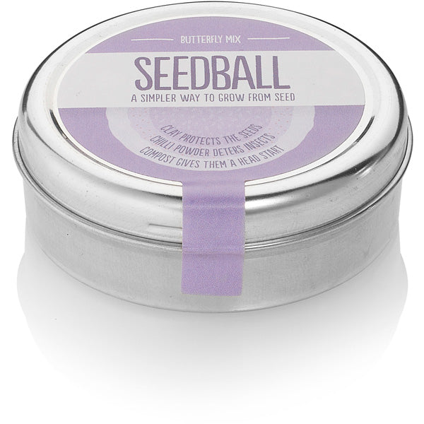 Seedball Tin - Butterfly Mix