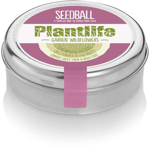 Seedball Tin - Plantlife Garden Wildflowers