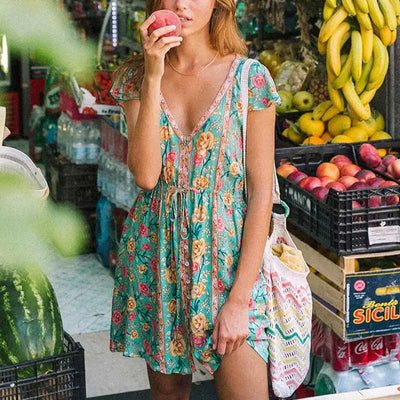 Lada Vintage Sweetheart Dress Mini dress Stars Cielo Clothing
