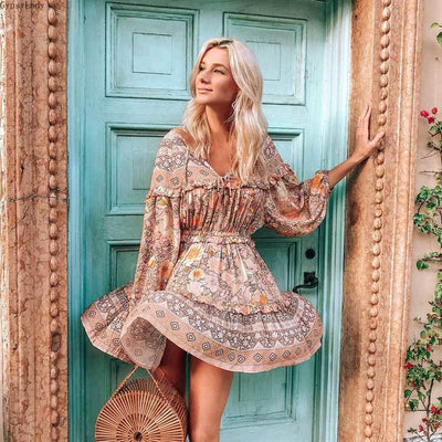 Aura Sweetheart Mini Dress Dresses GypsyLady Store S