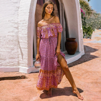 Aura Hippie Dream Dress Diosa Divina
