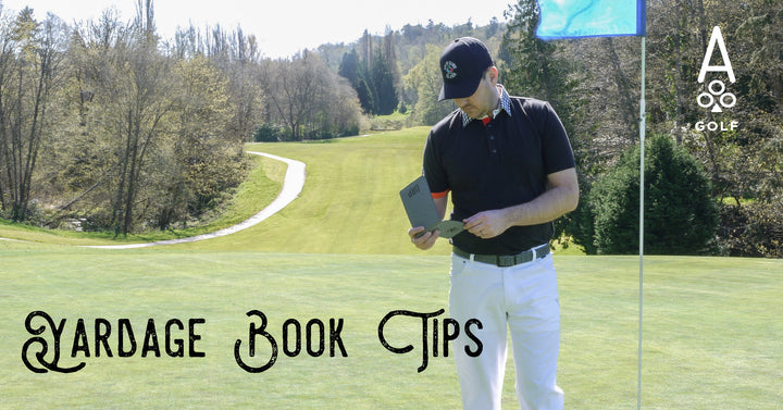 How to Play Golf Quicker & Better - Use a Yardage Book