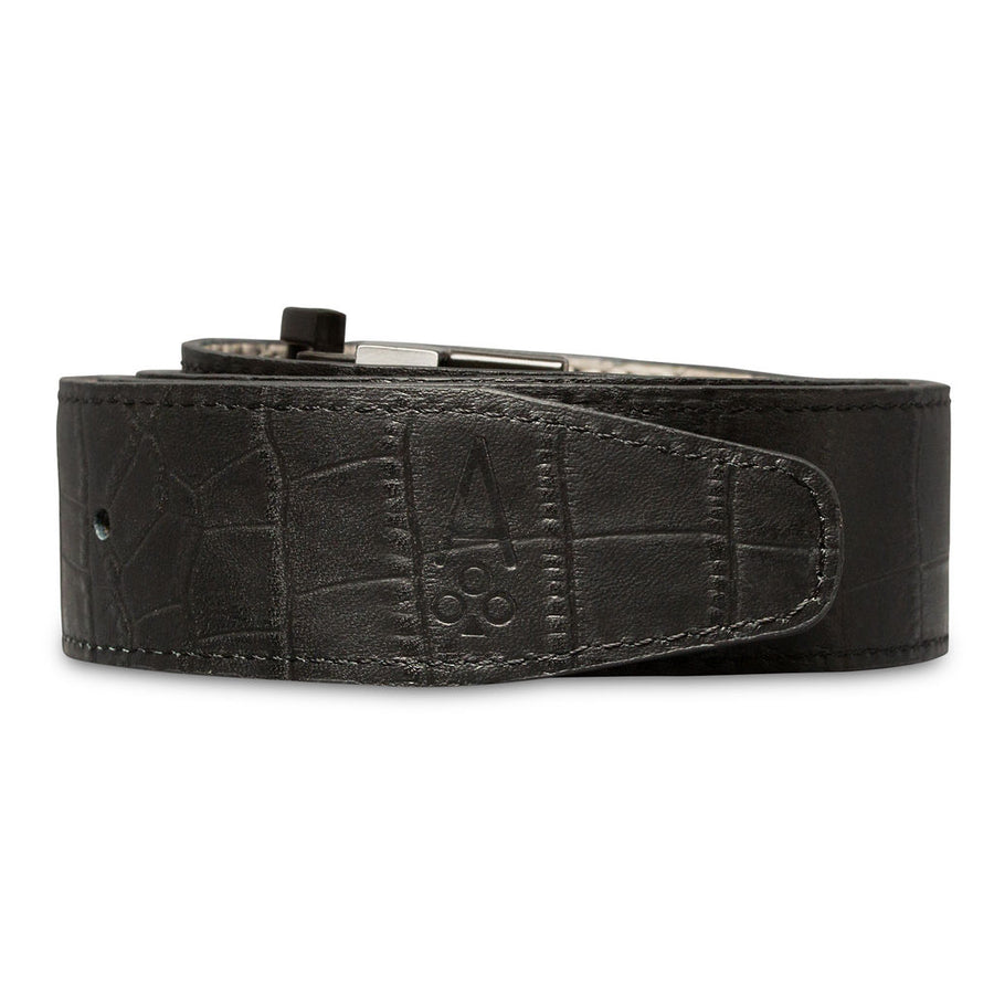 GRAY & BLACK REVERSIBLE ALLIGATOR
