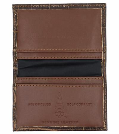 BROWN ALLIGATOR - Ace of Clubs Golf Company
