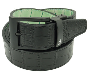 BLACK & MINT REVERSIBLE ALLIGATOR - Ace of Clubs Golf Company