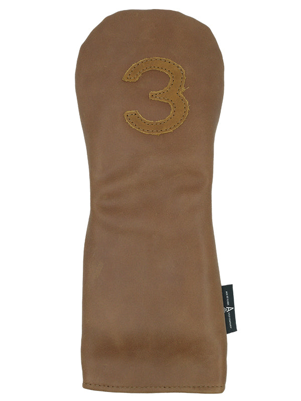 BROWN LEATHER 3 FW - Ace of Clubs Golf Company