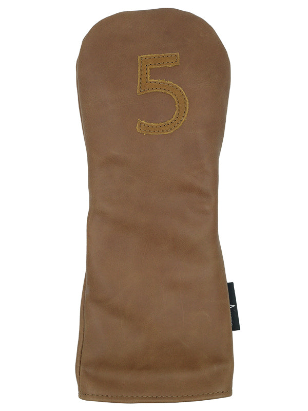 BROWN LEATHER 5 FW - Ace of Clubs Golf Company