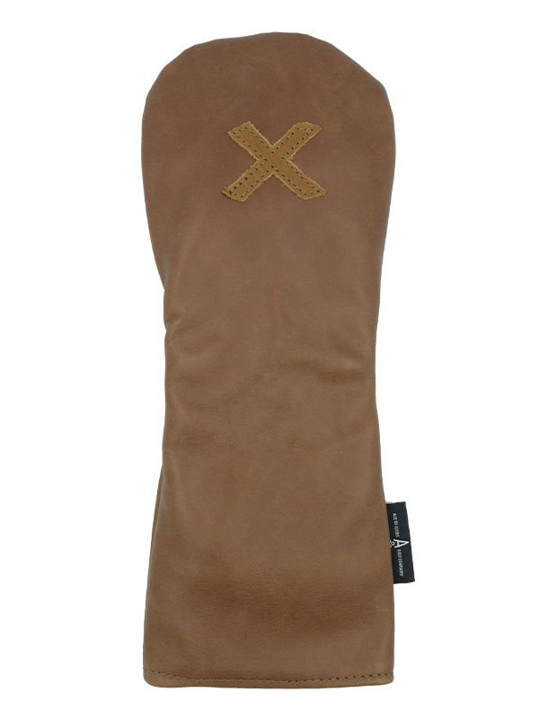 Brown Leather X Hybrid - Ace of Clubs Golf Company