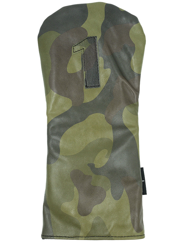 Camo Leather - Ace of Clubs Golf Company