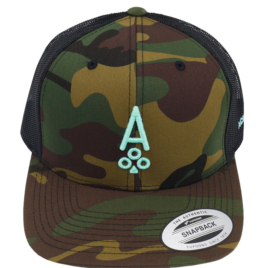 CAMO TRUCKER - Ace of Clubs Golf Company