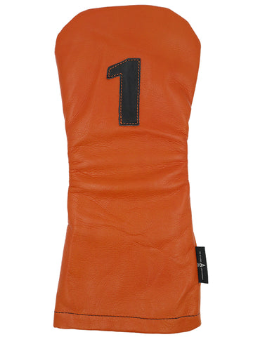 Orange Leather - Ace of Clubs Golf Company