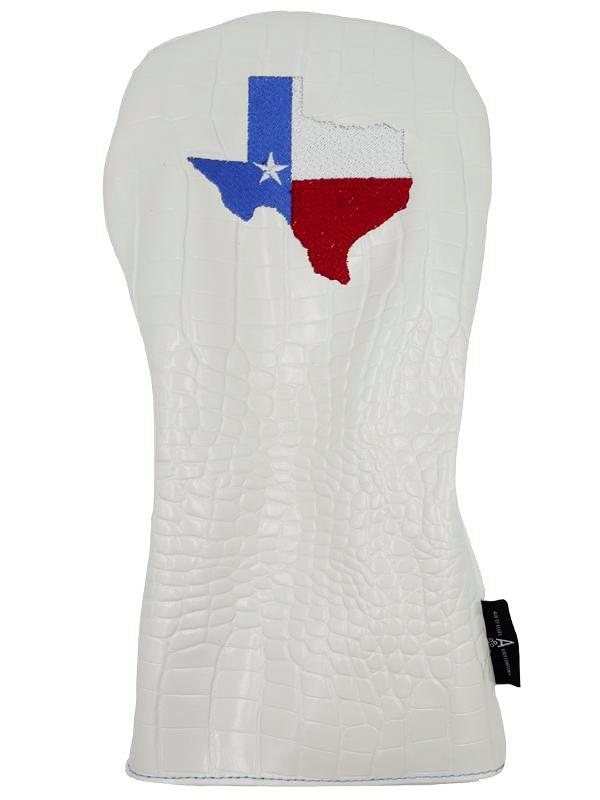 "White ""Texas"" Alligator - Ace of Clubs Golf Company"