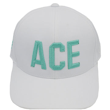 ACE - WHITE - Ace of Clubs Golf Company