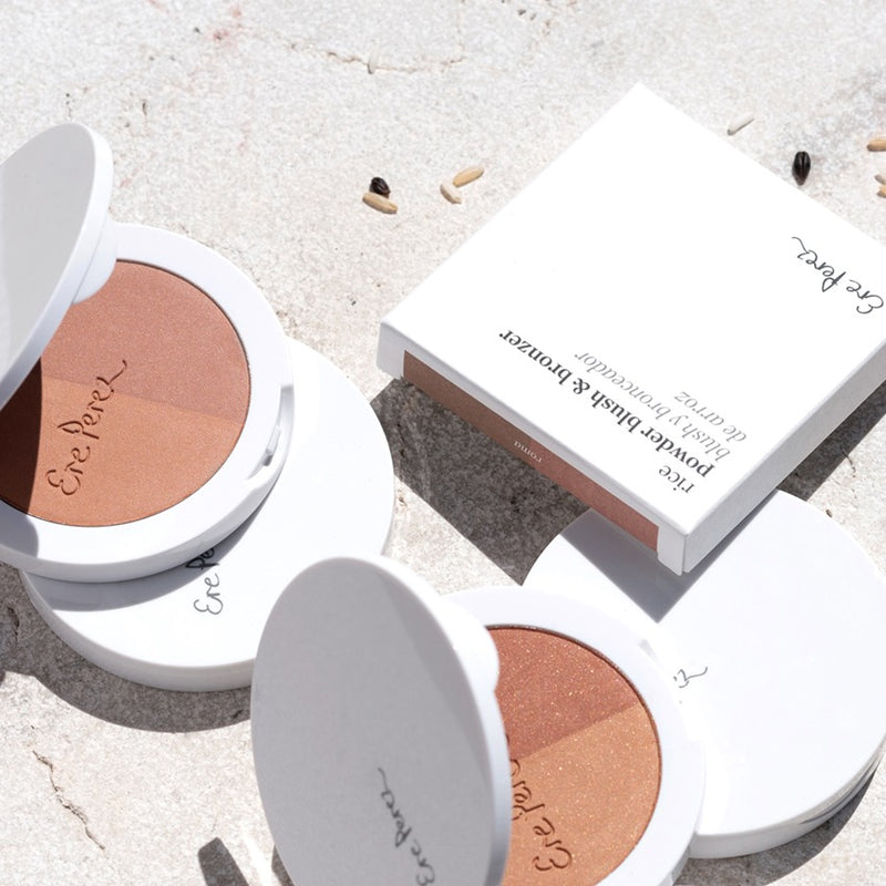 Ere Perez | Rice Powder Blush + Bronzer in Brooklyn - 9g