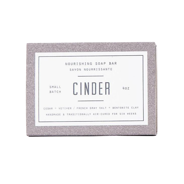 Woodlot | Cinder Nourishing Soap Bar - 4 oz
