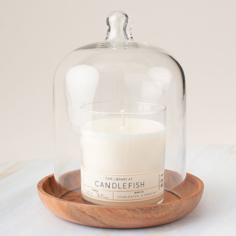 Candlefish | Glass Cloche