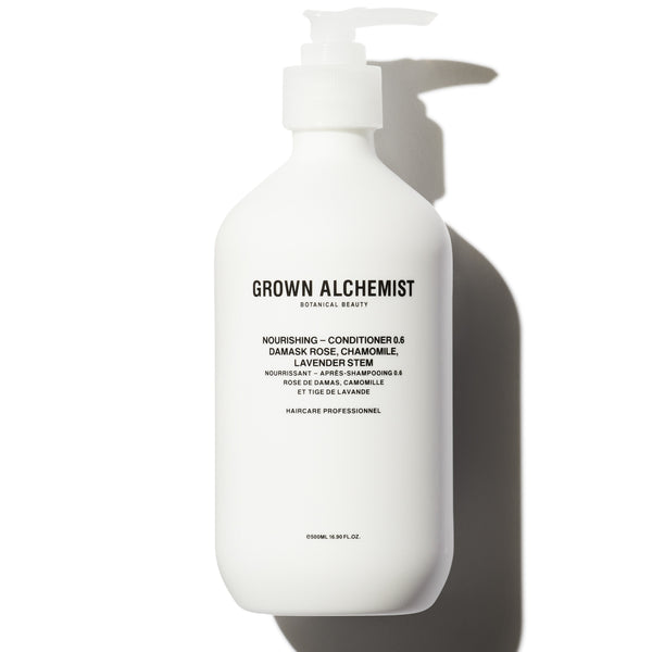 Grown Alchemist | Nourishing Conditioner 0.6: Damask Rose, Chamomile, Lavender Stem - 16.90 fl oz