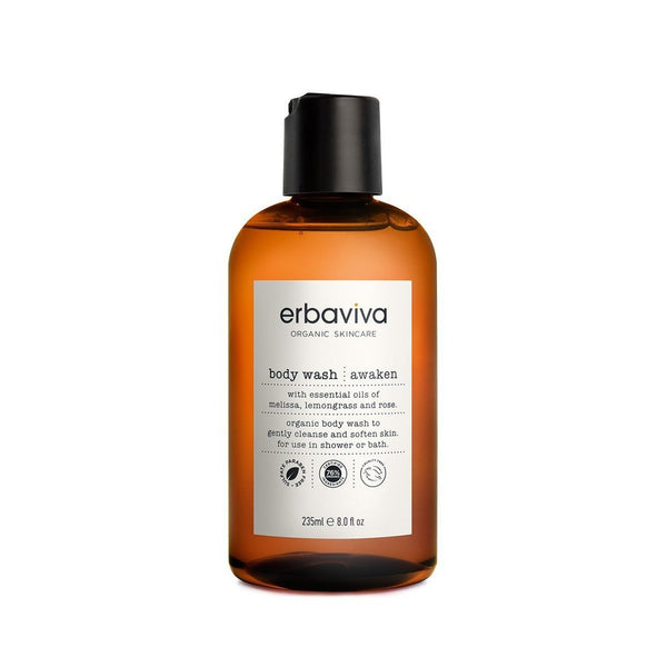 Erbaviva | Awaken Body Wash - 8oz