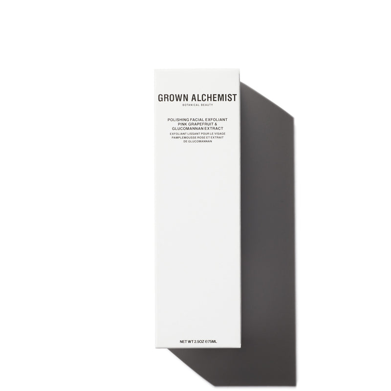 Grown Alchemist | Polishing Facial Exfoliant - Pink Grapefruit + Glucomannan Extract - 2.53 fl oz