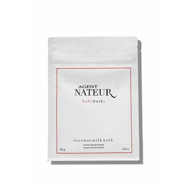 Agent Nateur | h o l i ( b a t h ) soothing hydrating calming coconut milk bath