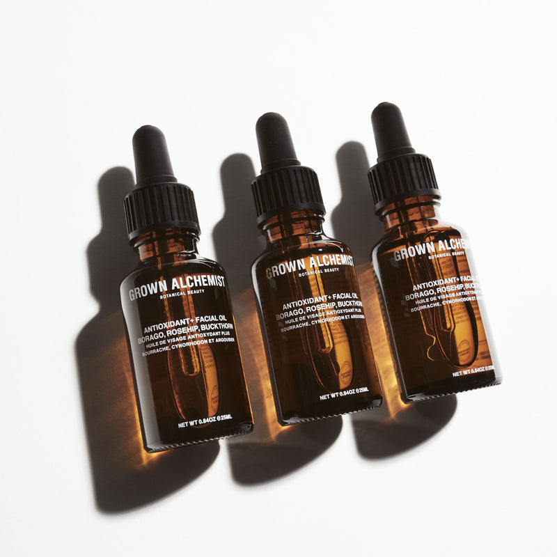 Grown Alchemist | Antioxidant+Facial Oil: Borago, Rosehip, Buckthorn - 0.84 oz