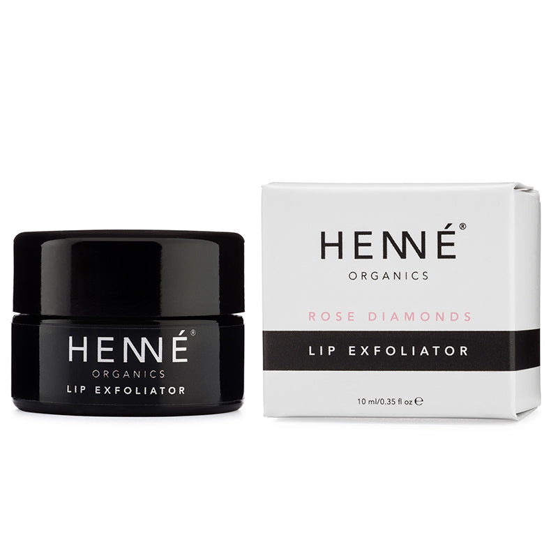 Henne Organics | Rose Diamonds Lip Exfoliator - 0.35 fl oz