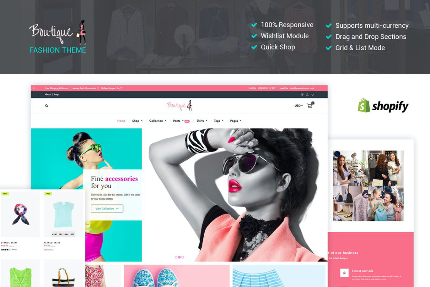 Fashion Boutique - Shopify Teması 0107