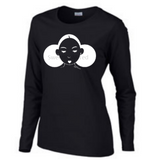 Give Me My Puffs - Long Sleeve Tee (White on Black)