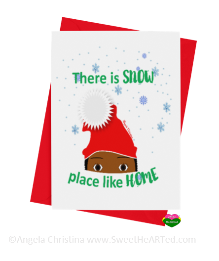 Holiday Card- Snow Place like Home-Brandon