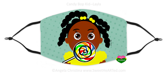 Face Covering-Candy Bop Kid-Layla (Child)