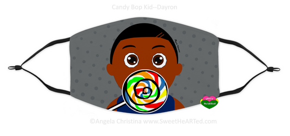 Face Covering-Candy Bop Kid-Dayron (Child)