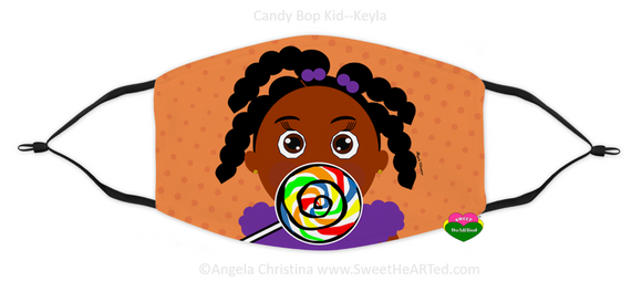 Face Covering-Candy Bop Kid-Keyla (Child)