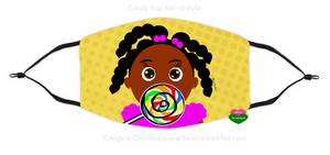 Face Covering-Candy Bop Kid-Sheyla (Child)