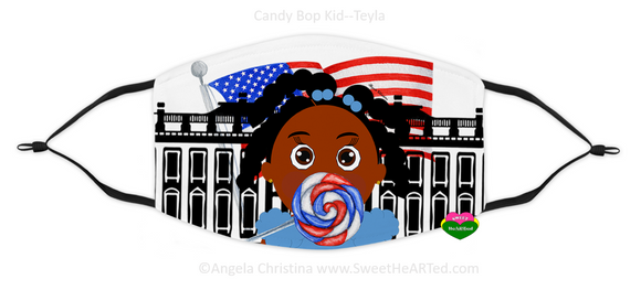 Face Covering-Candy Bop Kid-Teyla (Child)